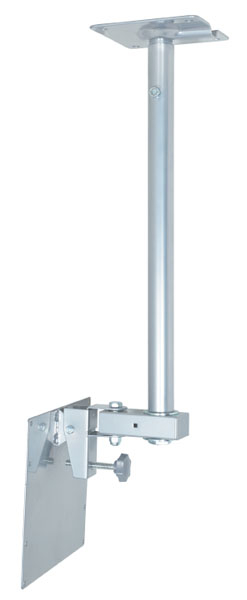 Video Mount Products LCD-2537C Mid-Size Flat Panel Ceiling Mount (Silver)
