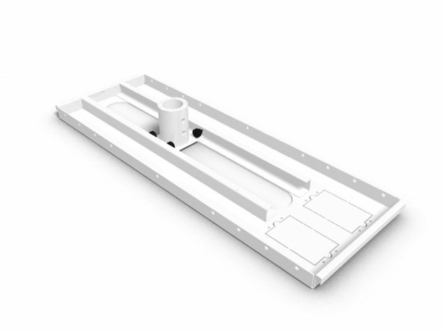 Promounts CT-PRO210 Ceiling Tile Plate for Projector Mounts