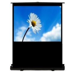 Recordex 100in. TheaterNow! Portable  Screen w/ Pneumatic Frame (59 x 79in.)