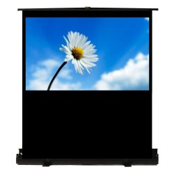 Recordex 73in. TheaterNow! Portable  Screen w/ Pneumatic Frame (36 x 64in.)