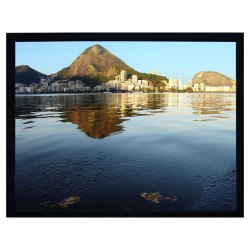 LuxFrame 180in. Deluxe Fixed Frame Projector Screen