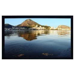 Recordex 909106 LuxFrame 106 in. Deluxe Fixed Frame Projector Screen