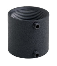 Chief CMA270B Threaded Pipe Coupler (Black)