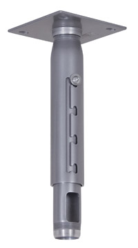 Chief CMA-700S 6in. Ceiling Plate with Adjustable 1.5in. NPT Column (Silver)