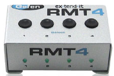 Gefen EXT-RMT-4 Remote Control for KVM Switcher Series