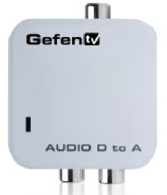 Gefen EXT-DDIGAUD-2-AAUD GefenTV Digital Audio to Analog Adapter