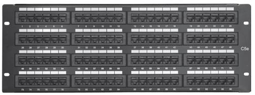 Comprehensive PP96P5E 96 port Cat5e patch panel