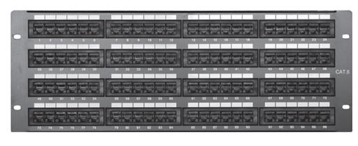 Comprehensive PP96P6 96 port Cat6 patch panel
