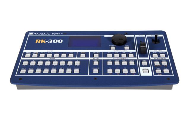 Analog Way RK-300 Remote Keypad for EKS, OPS, PLS, SVU, SMX, STE & SQD