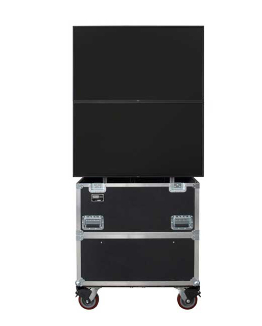 JELCO ELU-50RX2 RotoLift Dual Shipping and Display Case for 46