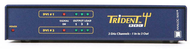 Trident DVI: Dual Channel DVI D/A  : One In/Three Out