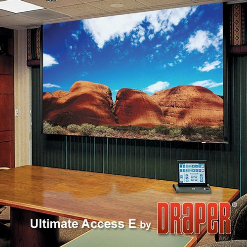 Draper 119228Q Ultimate Access/E Motorized Projection Screen 133in