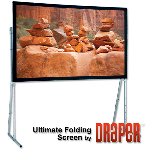 Draper 241081 Ultimate Folding Screen Complete with Standard Legs