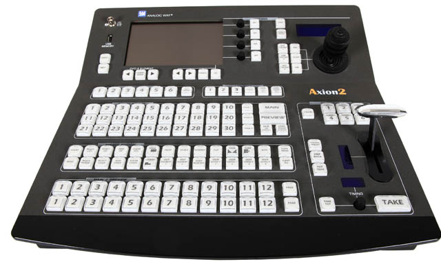 Axion2: High End Multi Screen Controller