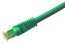Cat5e 350 Mhz Snagless Patch Cable 50ft Green