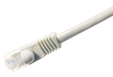 Comprehensive CAT5-350-50WHT Cat5e 350 Mhz Snagless Patch Cable 50ft White