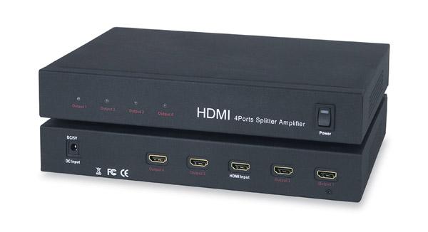 Comprehensive CDA-HD400 1x4 HDMI Distribution Amplifier