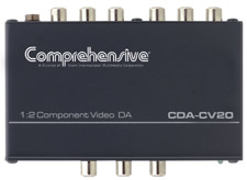 Comprehensive CDA-CV20 1x2 Component Video Distribution Amplifier