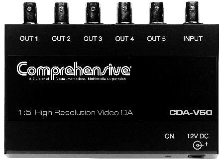 1x5 Composite Video DA(BNC)