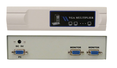 Comprehensive CDA-VGA20C 1x2 SVGA Splitter
