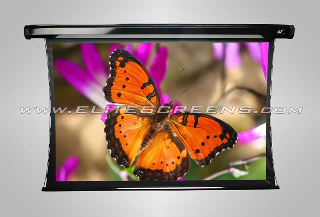 Elite TE120HR2 CineTension2 RearPro Series 121in. Electric Screen