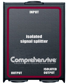 Comprehensive Isolated 1X2 Signal Splitter