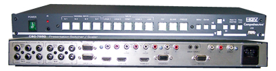 9-input ProScale Presentation Scaler/Switcher