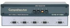 Comprehensive CVG-41VGA 4X1 VGA/XGA Mechanical Switcher, 750 MHz