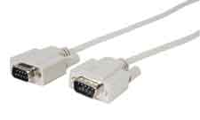 Comprehensive DB9P-DB9P-250 DB9 Plug to Plug (pin to pin) RS-232 Cable 250ft