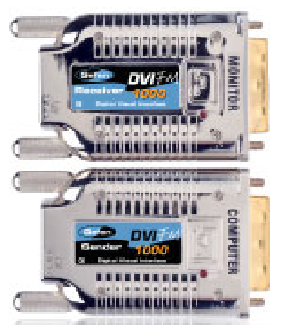 Gefen EXT-DVI-FM1000 Fiber Optic Modules for 3300ft DVI Extension