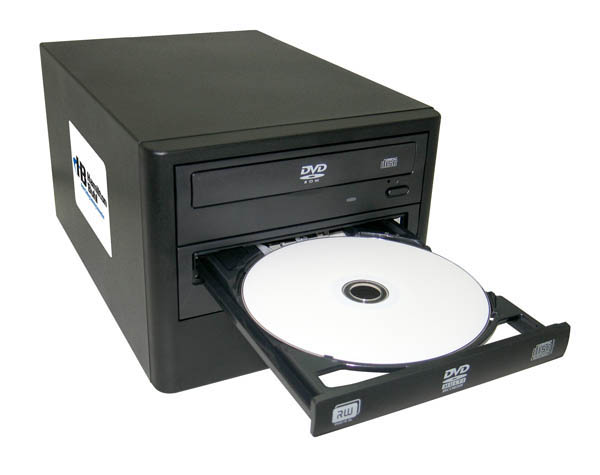 Hamilton HB121-MAS 1 Reader to 1 Writer Load & Go DVD/CD Duplicator