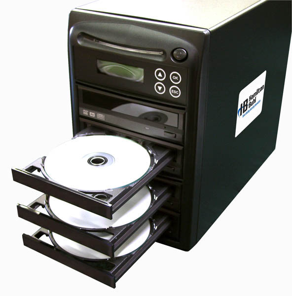 Hamilton HB123 1 Reader to 3 Writer DVD/CD Duplicator