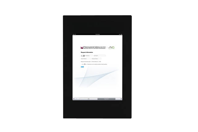 Premier Mounts IPM-700 Fully Enclosed Mounting Frame for iPad™