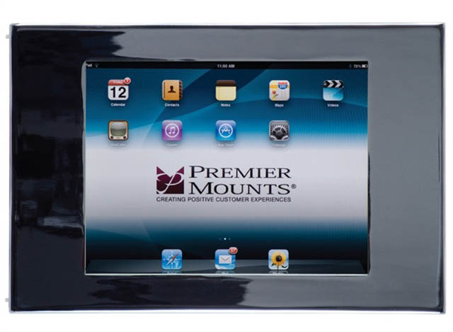 Premier Mounts IPM-720 Secure iPad™ Mounting Frame with Camera Access
