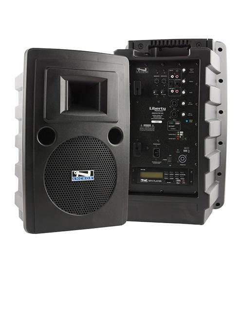 Anchor Audio LIB-8000CU2 LIBERTY/MP3 PLAYER/2 WIRELESS RECEIVERS