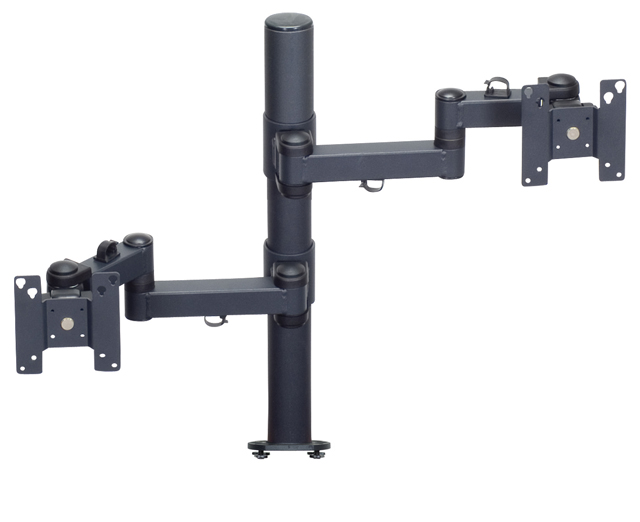 Premier Mounts MM-AE282 Articulating Arms on 28in. Tube with Extrusion Base