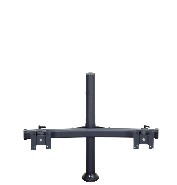 Premier Mounts MM-BH152 Monitor Curved Bow on 15in. Tube with Grommet Base