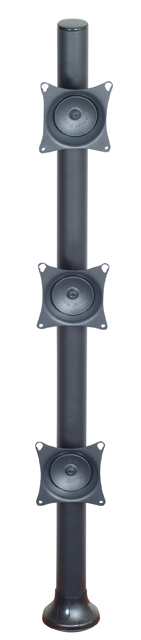 Premier Mounts MM-VH423 3 VPM Mounts on 42in. Tube with Grommet Base