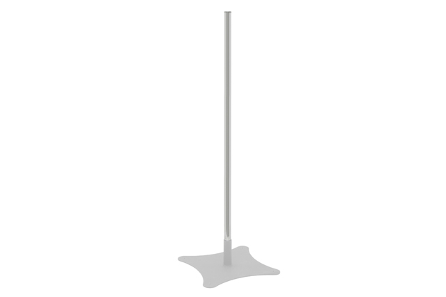 Premier Mounts P60 60 in. Single Replacement Chrome Pole