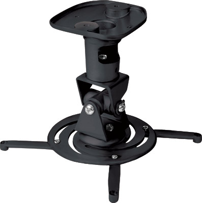 A-V Mounts AVM-PRO-UNV101-BK Black Universal Projector Mount