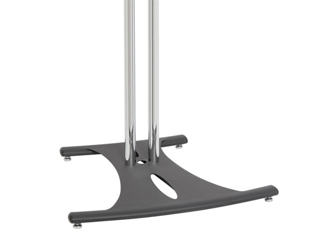 Premier Mounts PSD-EB84 Elliptical Floor Stand with 84in. Chrome Poles