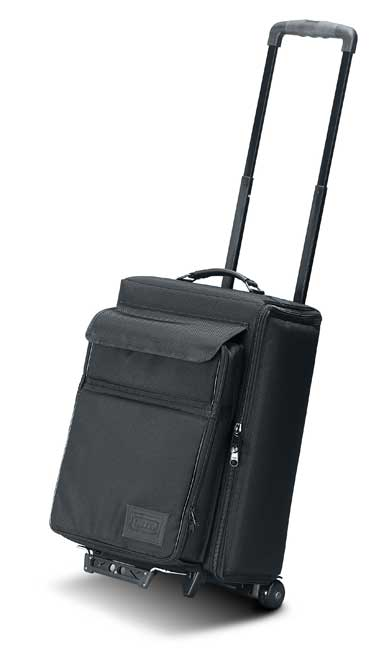JELCO JEL-1666RP Padded Hard Side Wheel Case w/Removable Laptop Case