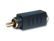 Comprehensive S4J-PP S-Video 4 pin female to RCA Male bi-directional adapter