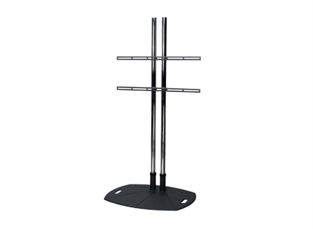 Premier Mounts TL72UFA Lightweight Display Floor Stand w/ 72 in. Dual Poles