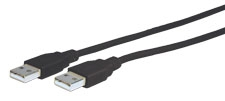 Comprehensive USB2-AA-25ST USB 2.0 A to A Cable 25ft
