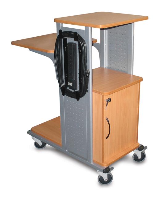 H. Wilson Company Presentation Cart WPS4BRCE