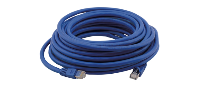 Kramer RJ-45 M-M DGKat Shielded Twisted Pair Cable for Digital Signals - 50ft