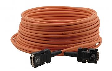 Kramer C-FODM/FODM-66 DVI-D (M) to DVI-D (M) Fiber/Copper Hybrid Cable