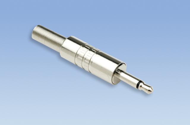 Liberty 30-421 3.5 Plug, 2C Solder, (Nickel)