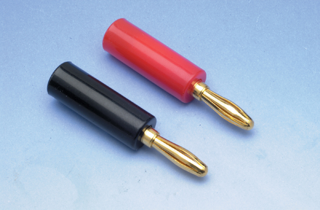 Liberty ZB01 10/12AWG Banana Plug Pair, Gold